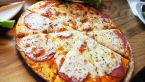 2 Ingredients Dough Pizza Crust - 3 WW Points